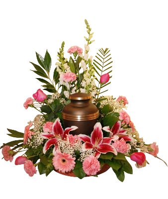 Memorial Arrangement For Urn Small